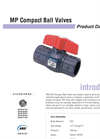 MP Valves PRODUCT Data Sheet